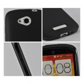 Black Crystal Silicone Case for HTC One VX