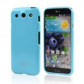 Sky Blue CellLine Crystal Silicone Skin Case for LG Optimus G Pro