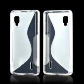 Clear S Crystal Silicone Case for LG Optimus G (Sprint)
