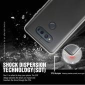 LG V20 TPU Case, REDshield [Blue] Slim & Flexible Anti-shock Crystal Silicone Protective TPU Gel Skin Case Cover