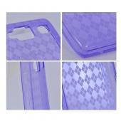 Motorola Droid RAZR MAXX HD Crystal Silicone Case - Argyle Purple