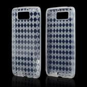Argyle Clear Crystal Silicone Skin Case for Motorola Droid Ultra/ Droid MAXX