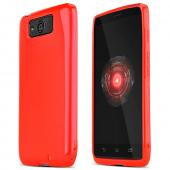 Argyle Red Crystal Silicone Skin Case for Motorola Droid Ultra/ Droid MAXX