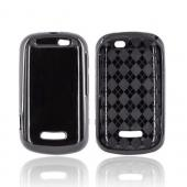 Motorola Clutch+ i475 Crystal Silicone Case - Black (Argyle Interior)