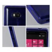 Argyle Blue Crystal Silicone Case for Nokia Lumia 810