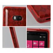 Argyle Red Crystal Silicone Case for Nokia Lumia 810