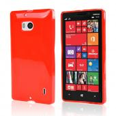 Red Crystal Silicone Skin Case for Nokia Lumia Icon