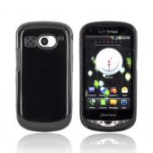 Pantech Breakout Crystal Silicone Case - Black (Argyle Interior)