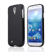 CellLine Black Crystal Silicone Skin Case w/ Textured Back for Samsung Galaxy S4