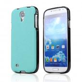 CellLine Dark Mint/ Black Crystal Silicone Skin Case w/ Textured Back for Samsung Galaxy S4