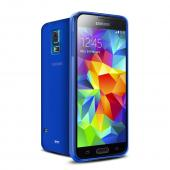 Blue/ Frost Crystal Silicone TPU Skin Case for Samsung Galaxy S5