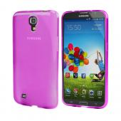 Hot Pink Crystal Silicone Skin Case for Samsung Galaxy Mega 6.3