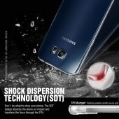 Samsung Galaxy A5  Case, REDshield [Black]  Slim & Flexible Anti-shock Crystal Silicone Protective TPU Gel Skin Case Cover