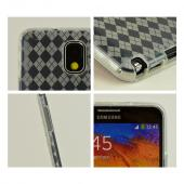 Clear/ Frost Crystal Silicone Skin Case for Samsung Galaxy Note 3
