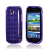 Samsung Galaxy Stellar Crystal Silicone Case - Purple
