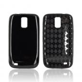 T-Mobile Samsung Galaxy S2 Crystal Silicone Case - Black (Argyle Interior)