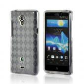 Clear Argyle Crystal Silicone Case for Sony Xperia TL