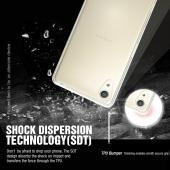 Sony Xperia X Case, REDshield [Clear] Slim & Flexible Anti-shock Crystal Silicone Protective TPU Gel Skin Case Cover