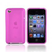 Luxmo Apple iPod Touch 4 Crystal Silicone Case - Frost Hot Pink