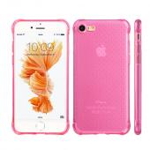 Apple iPhone 7 (4.7 inch) Case, REDshield [Hot Pink] Durable Anti-shock Crystal Silicone Protective TPU Gel Skin Case Cover