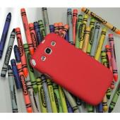 Red Melon Super Premium Anti-Slip Crayon Series Crystal Silicone Case for Samsung Galaxy S3