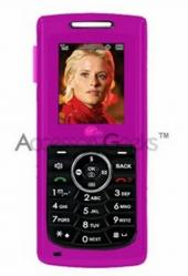 UTStarcom Super Slice Silicone Skin Case - Hot Pink