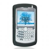 BlackBerry Curve 8330, 8320, 8310, 8300 Silicone Skin Case - Smoke