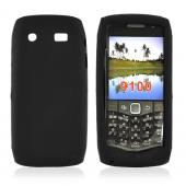 Blackberry Pearl 3G 9100/9105 Silicone Case, Rubber Skin - Black