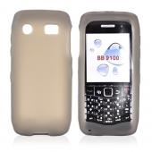 Blackberry Pearl 3G 9100/9105 Silicone Case, Rubber Skin - Smoke