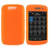 Blackberry Storm 2 Silicone Case, Rubber Skin - Orange