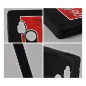 Black Cassette Silicone Case for Google Nexus 4