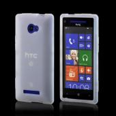 Frost White Silicone Case for HTC 8X