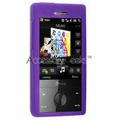 HTC Touch Diamond Silicone Case, Rubber Skin - Purple (CDMA)