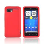 HTC Vivid Silicone Case - Red