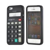Apple iPhone 5/5S Silicone Case - Black Calculator