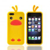 Apple iPhone 5/5S Silicone Case - Yellow Duck