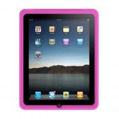Apple iPad (1st Gen) 1st Silicone Case, Rubber Skin - Hot Pink
