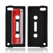 Apple iPod Touch 5 Silicone Case - Black Cassette
