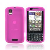 Motorola Droid Pro A957 Silicone Case - Hot Pink