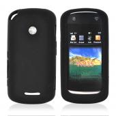 Motorola Crush W835 Silicone Case, Rubber Skin - Black