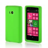 Neon Green Silicone Case for Nokia Lumia 810