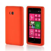Orange Silicone Case for Nokia Lumia 810