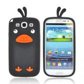 Samsung Galaxy S3 Silicone Case - Black Duck