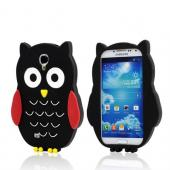 Black Owl Silicone Case for Samsung Galaxy S4
