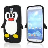 Black Penguin Silicone Case for Samsung Galaxy S4