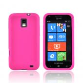Samsung Focus S i937 Silicone Case - Hot Pink