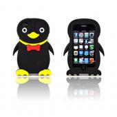 AT&T/ Verizon Apple iPhone 4, iPhone 4S Silicone Case - Black Duck