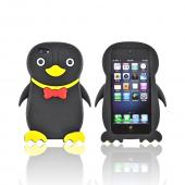 Premium Apple iPhone 5/5S Silicone Case - Black Duck