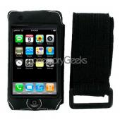 Apple iPod Touch 1st GenWater Suit Case - Black w/ Silver Trim