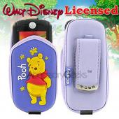 Disney Licensed Winnie-the-Pooh Cell Phone Pouch - Purple (FS, BS, BM)